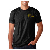 Get Butter Men's Premium Fitted Shirt